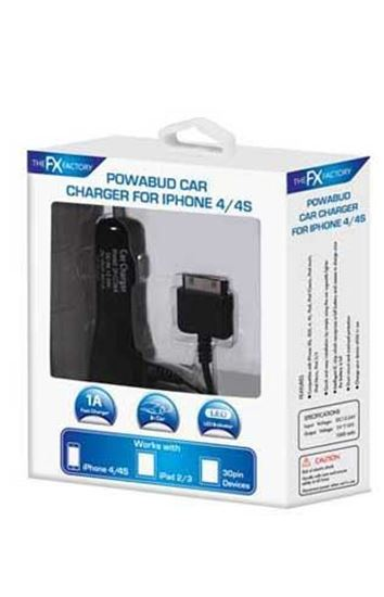 Picture of iPhone 4 Car Charger 1 Amp