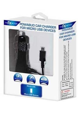 Picture of Micro USB Car Chargers 1 Amp